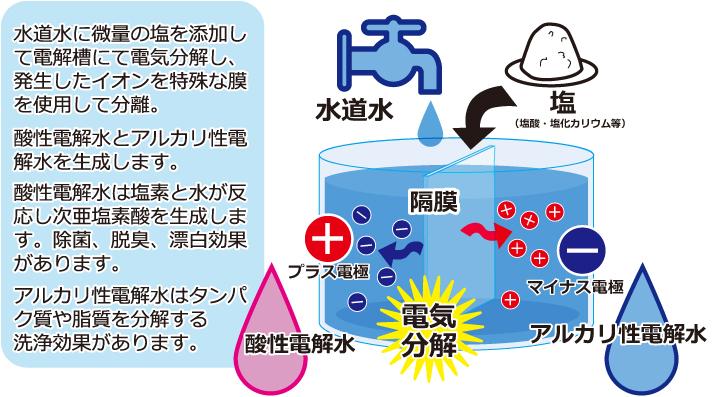 電解 水 コロナ ウイルス